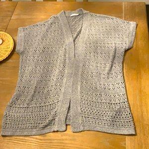 Ricki's grey knit cardigan